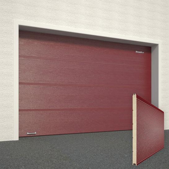 Железные ворота на гараж во владимире проект цоколя с гаражом
