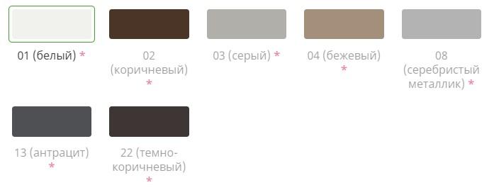 Смотровой профиль цвета